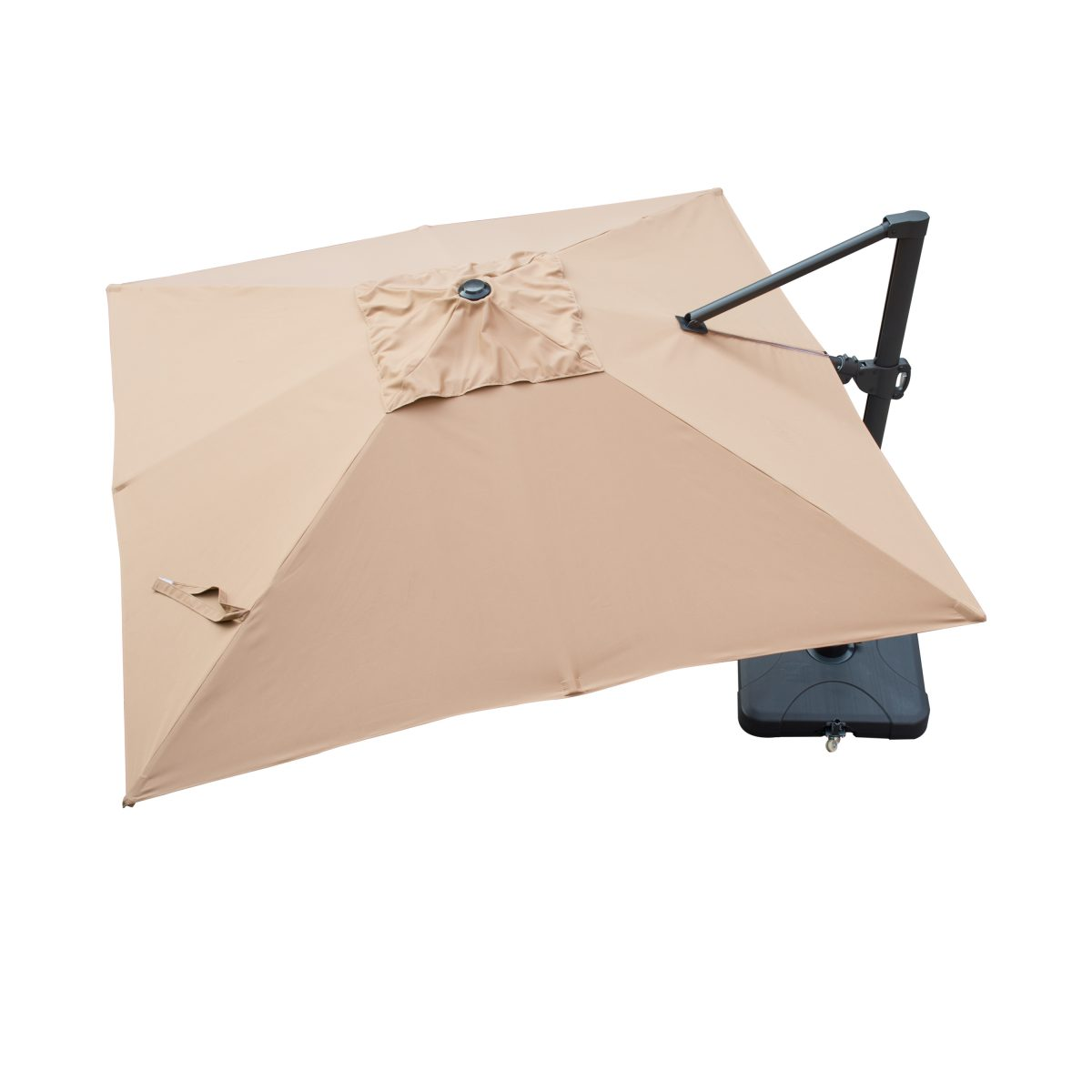 Sirio Niko Beige Square Resort Umbrella Starsong