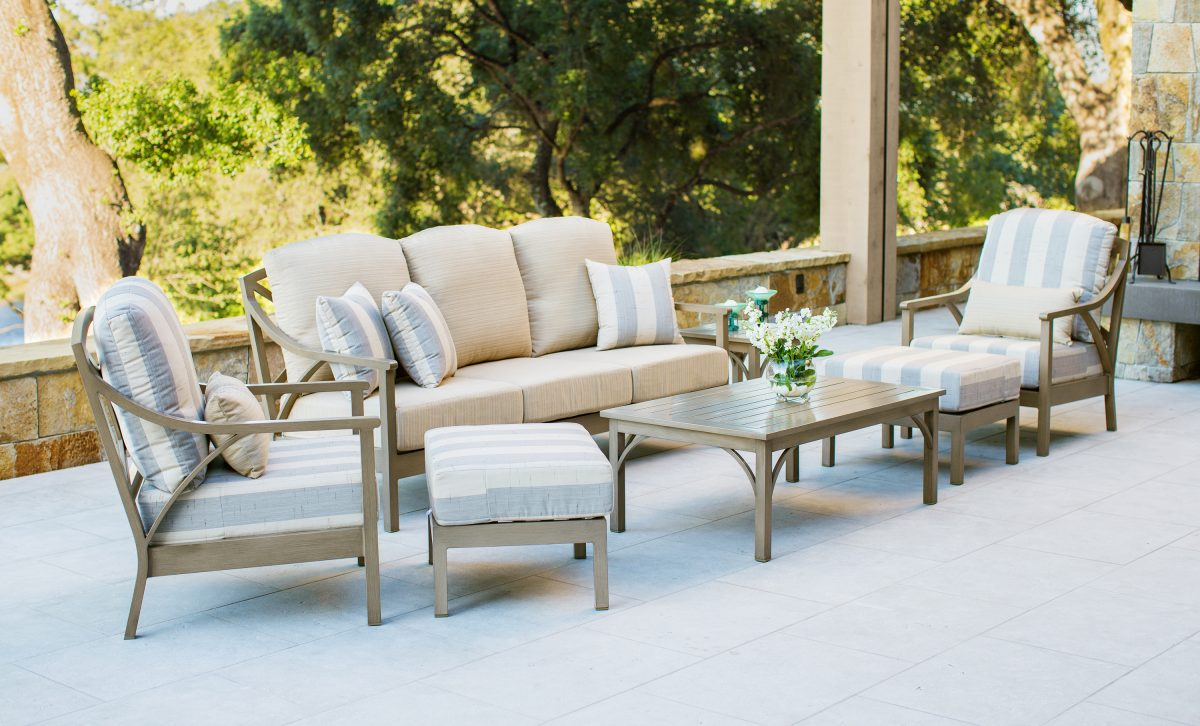 Luxury Furniture on Terrace