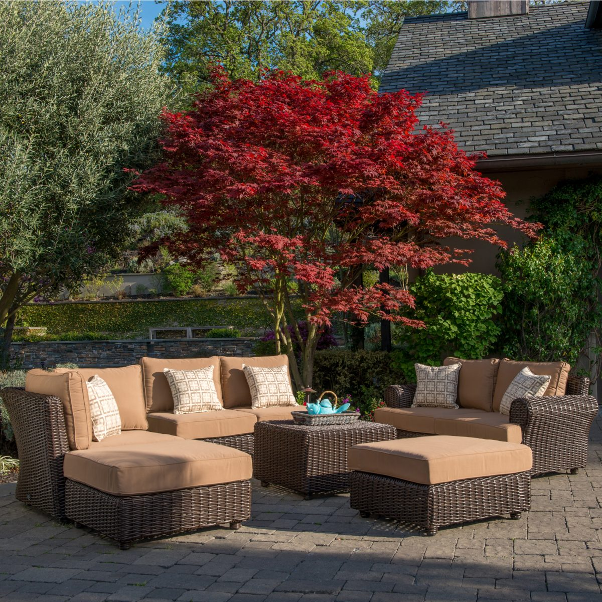 Why Wicker Furniture is Great for Your Outdoor Living ... on Outdoor Living Wicker id=52176