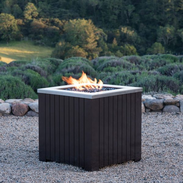 Corvus Outdoor Propane Fire Pit Table