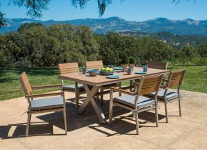 Corvus Jasmine 7 Piece Patio Set