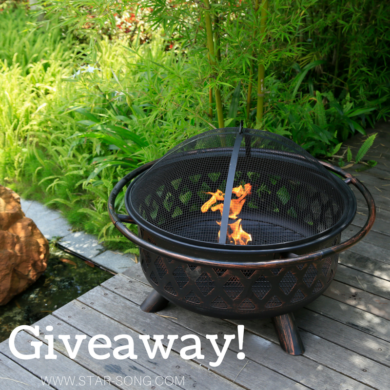 fire pit giveaway