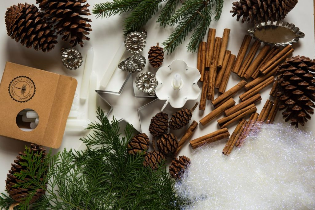 holiday decor ideas - winter aromas