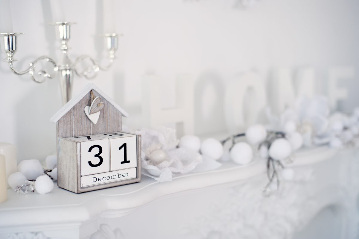 home decor ideas - transitioning from holiday to winter