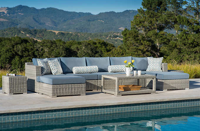 Modular Patio Furniture - Niko 10 piece set