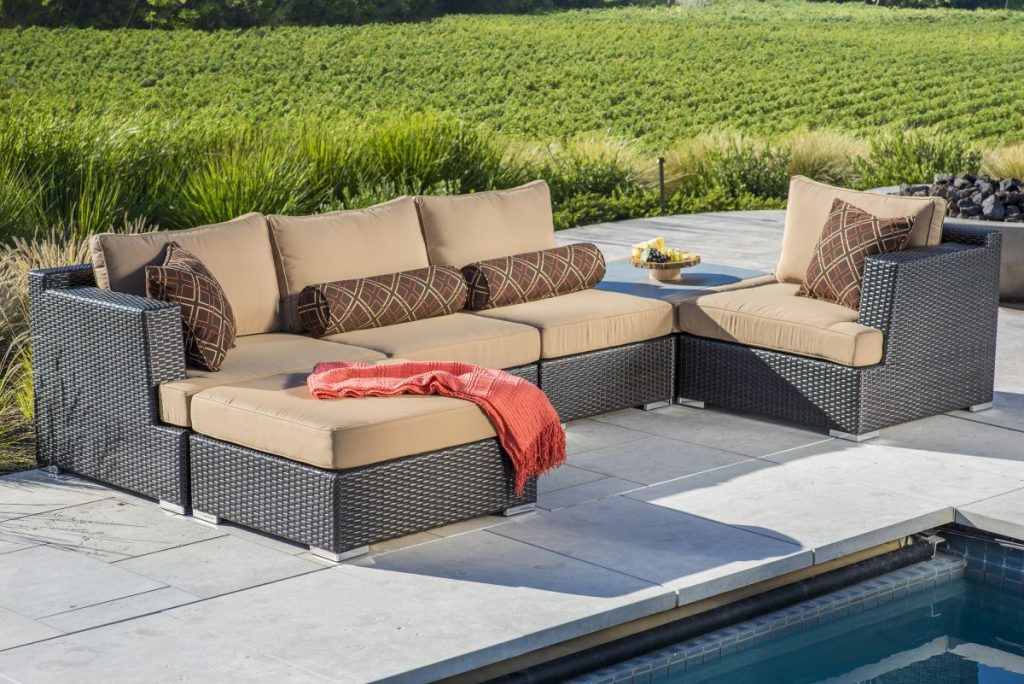 modular patio furniture - nike 6 piece