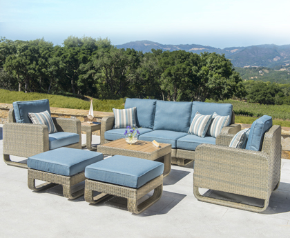 The Corvus Patio Furniture Collection Brings Casual Elegance And Comfort To Any Outdoor E