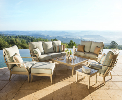 Starsong's Sirio patio furniture line fuses fresh, contemporary design into  each of their pieces. - Starsong Furniture