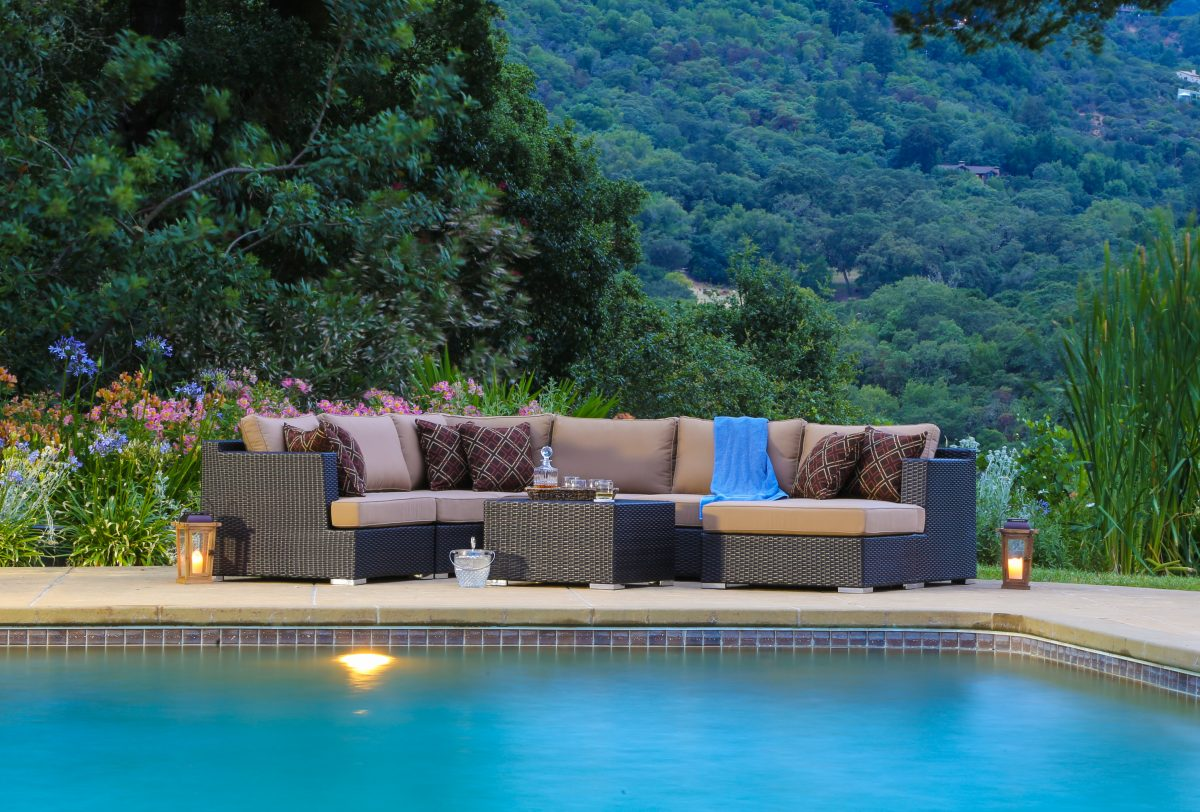 poolside furniture ideas