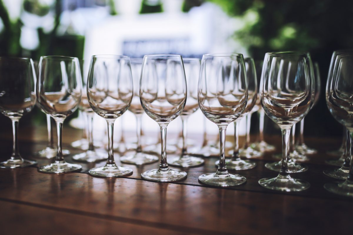 how to host a wine party at home - wine glasses