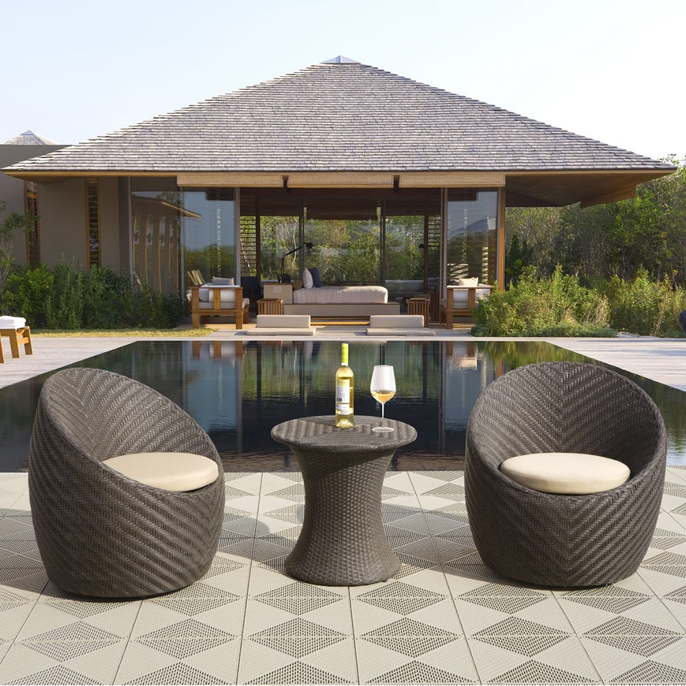 patio trends - conversation sets